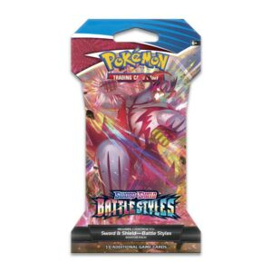 Buy Pokémon TCG: Sword & Shield-Battle Styles Sleeved Booster Pack (10 Cards) only at Bored Game Company.