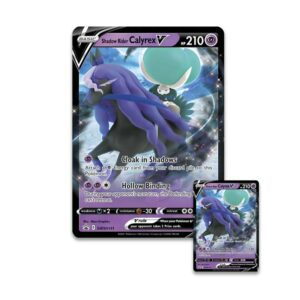 Buy Pokémon TCG: Shadow Rider Calyrex V Box only at Bored Game Company.