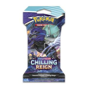 Buy Pokémon TCG: Sword & Shield-Chilling Reign Sleeved Booster Pack (10 Cards) only at Bored Game Company.